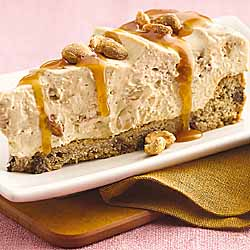 Spiced Creamy Caramel-Peanut Torte