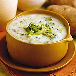 Idaho Potato Broccoli And Mushroom Soup