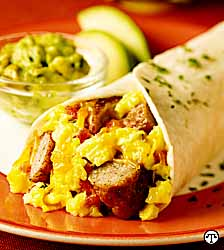 Southwestern Breakfast Wraps