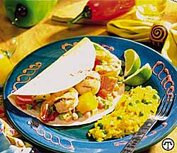 Shrimp & Scallop Fajitas